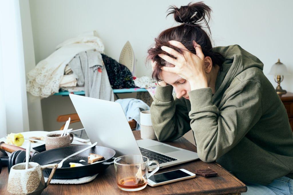 Folgen von Stress